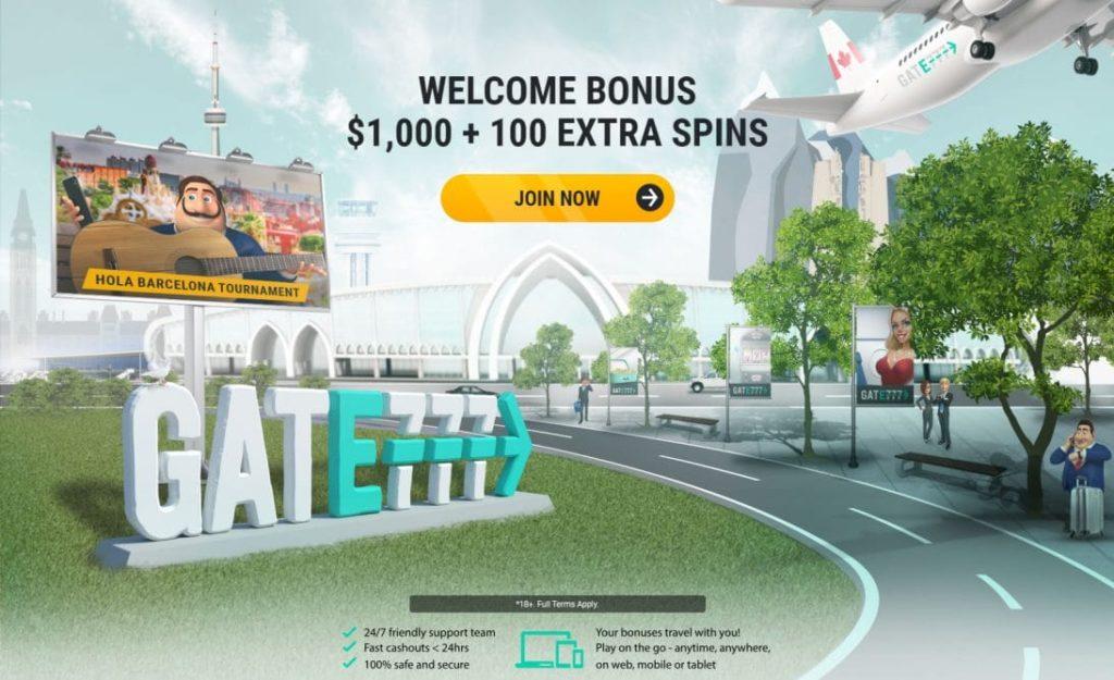 gate777 welcome bonus