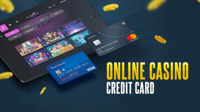 credit card online casino