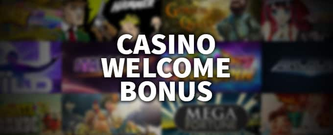 Casino welcome bonuses